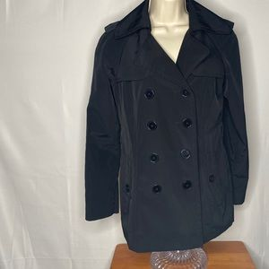 Women's London Fog Double Breasted Coat No Belt